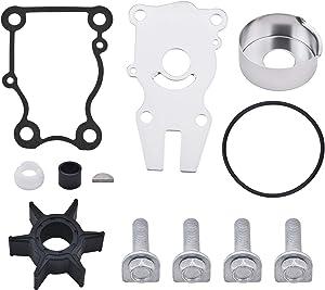 BDFHYK Water Pump Impeller Repair Kit Replacement 63D-W0078-01-00 for Yamaha 40HP 50HP 60HP Sierra 18-3434