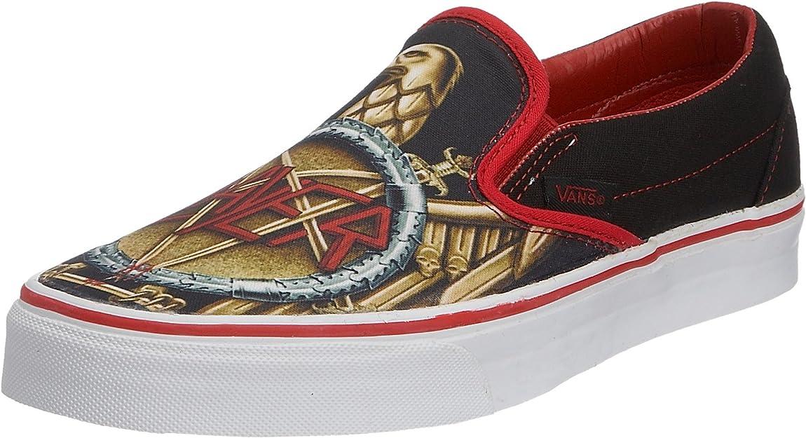 Vans Herren Casual, schwarzred, 42.5 EU: : Schuhe