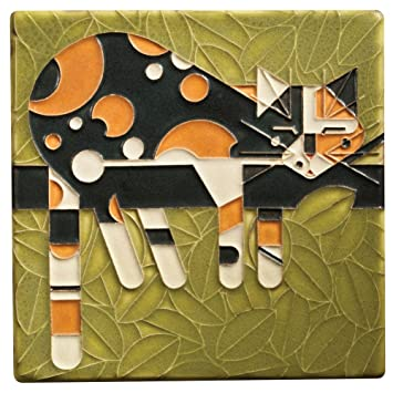 charley harper limp on a limb decorative tile - Decorative Tile