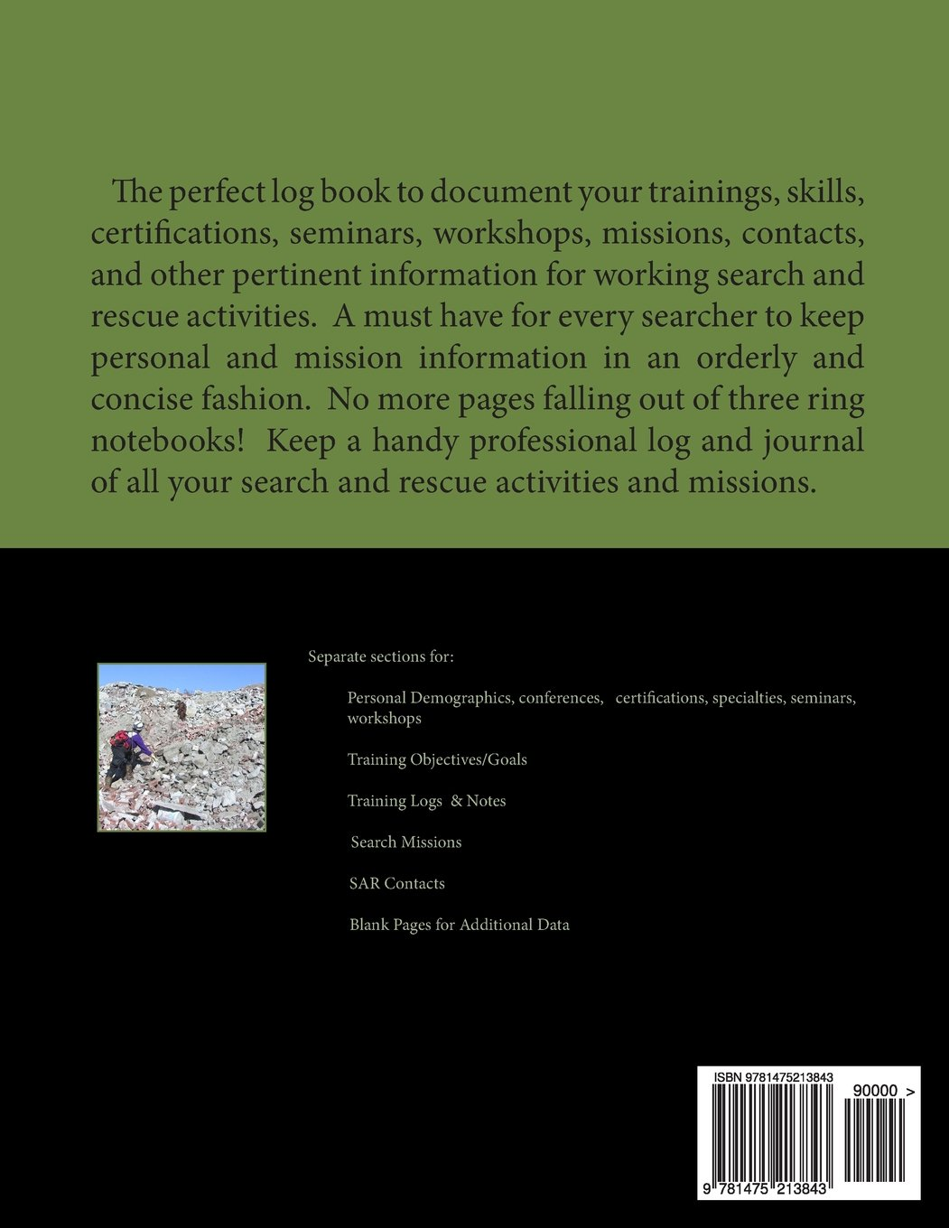Search And Rescue Training Log And Journal J C Judah 9781475213843