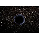 Artists View of a Black Hole in a Globular Cluster Poster Print (16 x 11)