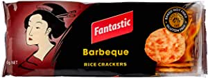 Fantastic Rice Crackers Barbeque, 100g