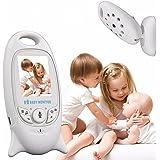 "INSMA Baby Monitor Wireless Live Camera, Talk-Back Two-Way Audio, Night Vision Temp Sensor, Long-rang Signal, Built-in Lullaby Comfort baby, 2"" LCD Screen, Long life Baby Camera Keep An Eye on Baby"