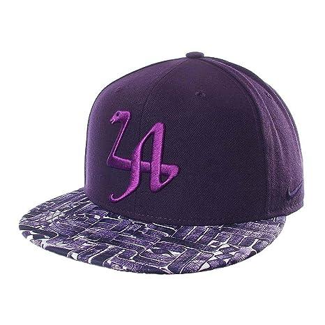 los angeles b2670 dc4b9 ... usa nike kobe mamba legend true snapback hat purple la rostarr a181f  b2aeb