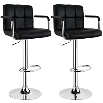 tabouret de bar noir amazon