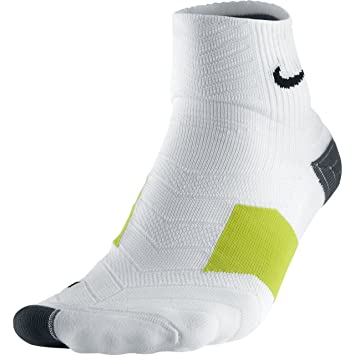 Nike Elite Golf Quarter Calcetines, Hombre, Blanco/Negro (White/Black), XL: Amazon.es: Zapatos y complementos