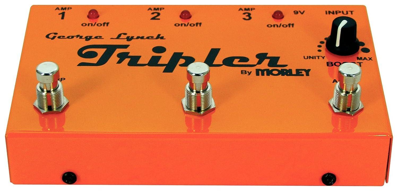 Morley George Lynch Tripler - Conector de guitarra a 3 amplificadores: Amazon.es: Instrumentos musicales