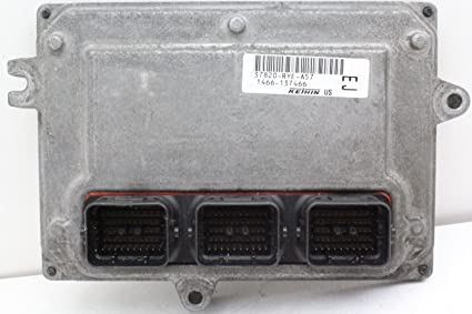 Amazon com: 07 Acura MDX 37820-RYE-A57 Engine Control Module ECU ECM