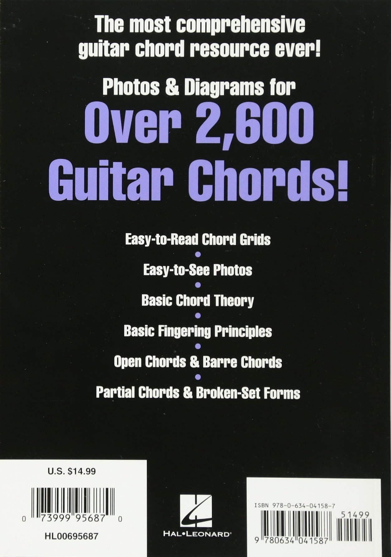 Picture Chord Encyclopedia Photos Diagrams For Over 2 600 Guitar
