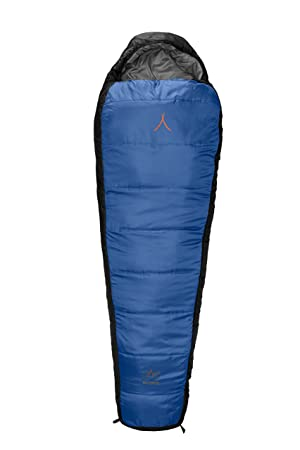 GRAND CANYON Fairbanks XL – saco de dormir tipo momia, 3 estaciones, azul/