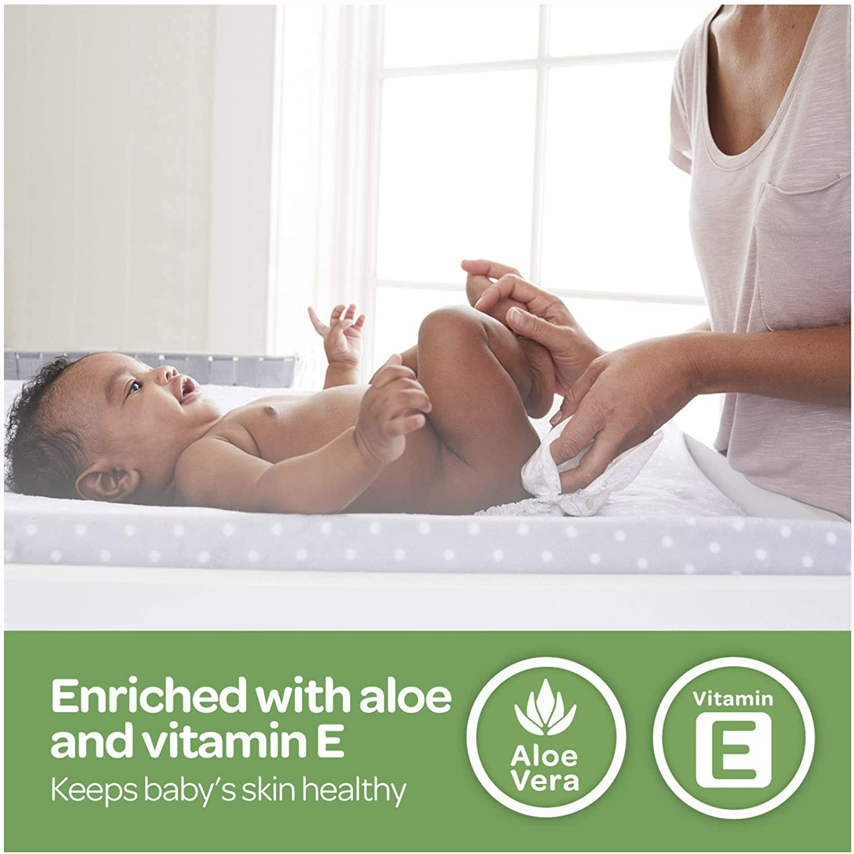 Huggies Brand Bundle – Huggies Little Snugglers Diapers, Size Newborn, 84 Ct & Huggies Natural Care Unscented Baby Wipes, Sensitive, 6 Disposable Flip-Top Packs - 288 Total Wipes (Packaging May Vary)