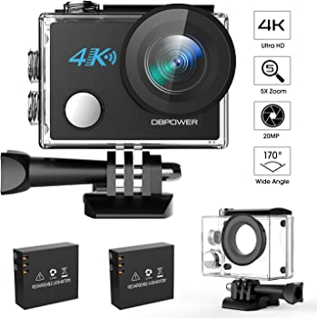 DBPower N5 4K WiFi Action Camera