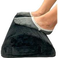 Foot Rest for Under Desk at Work by FondLife – Foam Work Table – Ergonomic Office Foot Rest – Under Desk Footrest with…