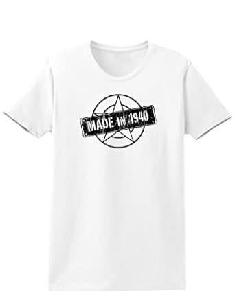 Made In 1940 Womens T Shirt At Amazon Womens Clothing Store