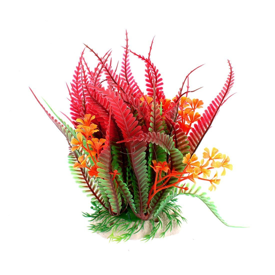 Flower Grass Aquarium Decoration Plant Fish Tank Artificial-color3