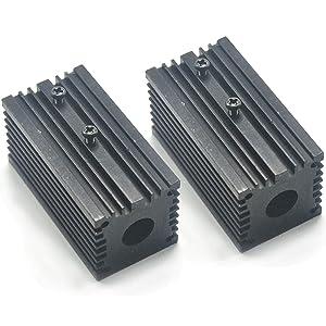 12mm Aluminum Cooling Heat Sink Holder Mount for 12mm Laser Diode Modules 32x62mm