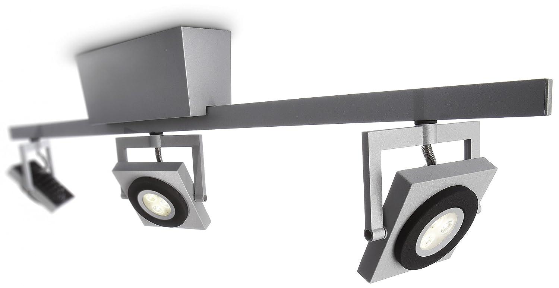 Philips Ledino Indoor 3er LED-Spotbalken , grau     Alu adc59b