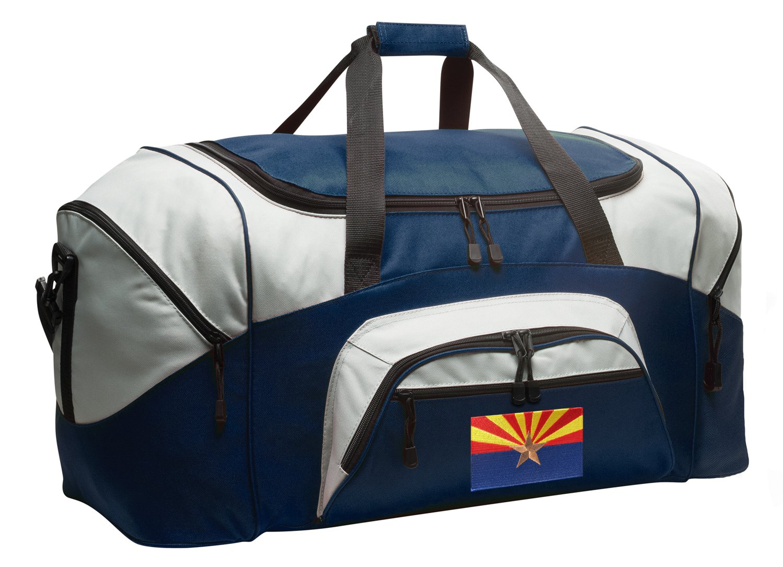 Arizona Flag Duffel Bag LARGE Arizona Suitcase or Gym Bag for Men Ladies Him or