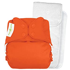 Image: BumGenius 4.0 Pocket Cloth Diaper - Snap - Sassy - One Size | Patent pending 3 x 3 adjustable snap system to fit most babies from birth to potty training