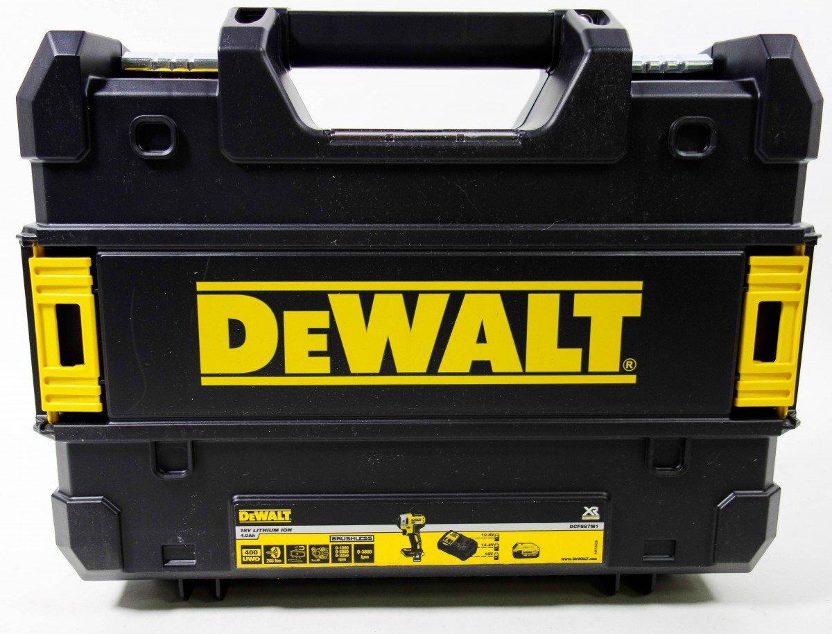/Atornillador de impacto 1//4/3/Velocidad 18/V Xr Litio Brushless + TSTAK DeWalt dcf887nt/