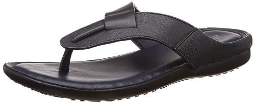 541d6635c44ece BATA Men s Supremo Blue Leather Hawaii Thong Sandals - 8 UK India (42 EU