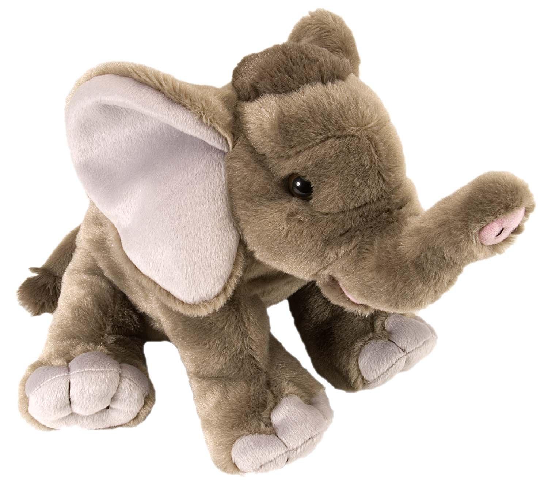 Wild Republic Elephant Baby Plush, Stuffed Animal, Plush Toy, Gifts Kids, Cuddlekins 12 Inches