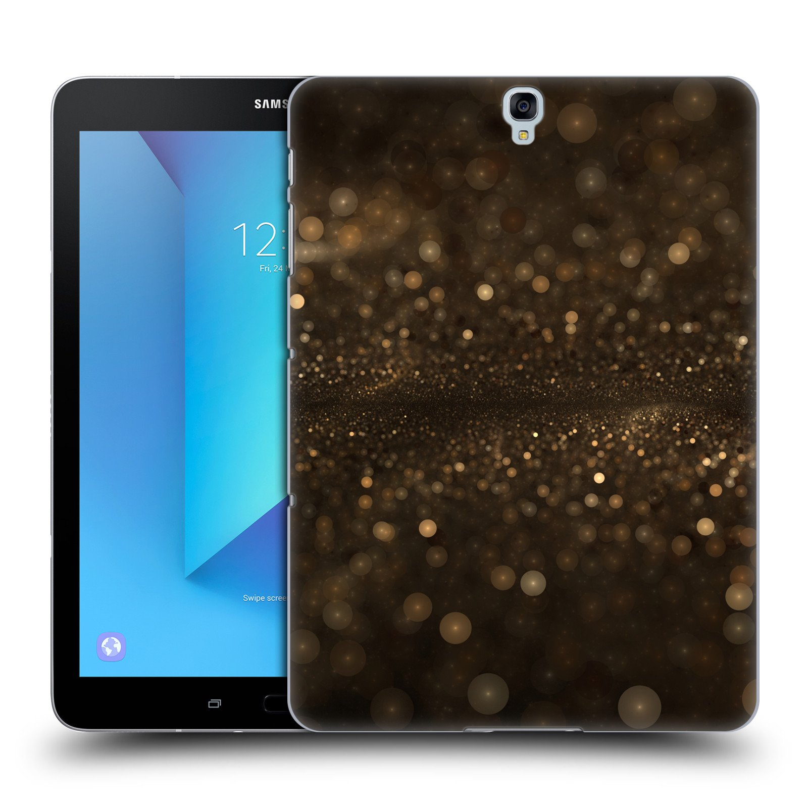 Official Andi GreyScale All That Gold Solar Bokeh Hard Back Case for Samsung Galaxy Tab S3 9.7