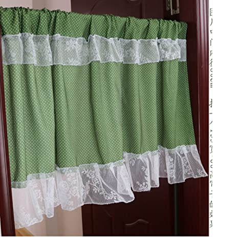 Bedroom Partition Curtain Fabric Half Lace Small Curtains Bathroom Feng Shui Hanging