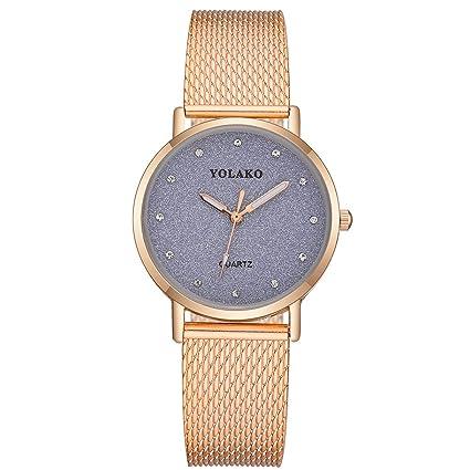 fb78887a8 Beclgo Women Watches,Fashion Steel Watch Casual Quartz Stainless Band  Marble Strap Analog Wrist Designer