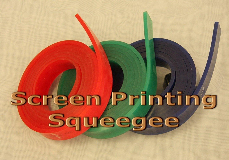 "Roll 75x90x75 Duro Screen Printing Squeegee Triple 50mm x 9mm x144/"""