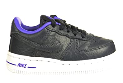 size 40 cb3a7 67c34 Nike Air Force 1 Low (TD) Baby Toddlers Shoes Black Purple Black