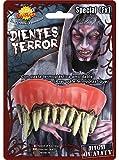 Guirca Zombiezähne Gruselig Monster Effektgebiss Zähne Halloween Wiederverwendbar