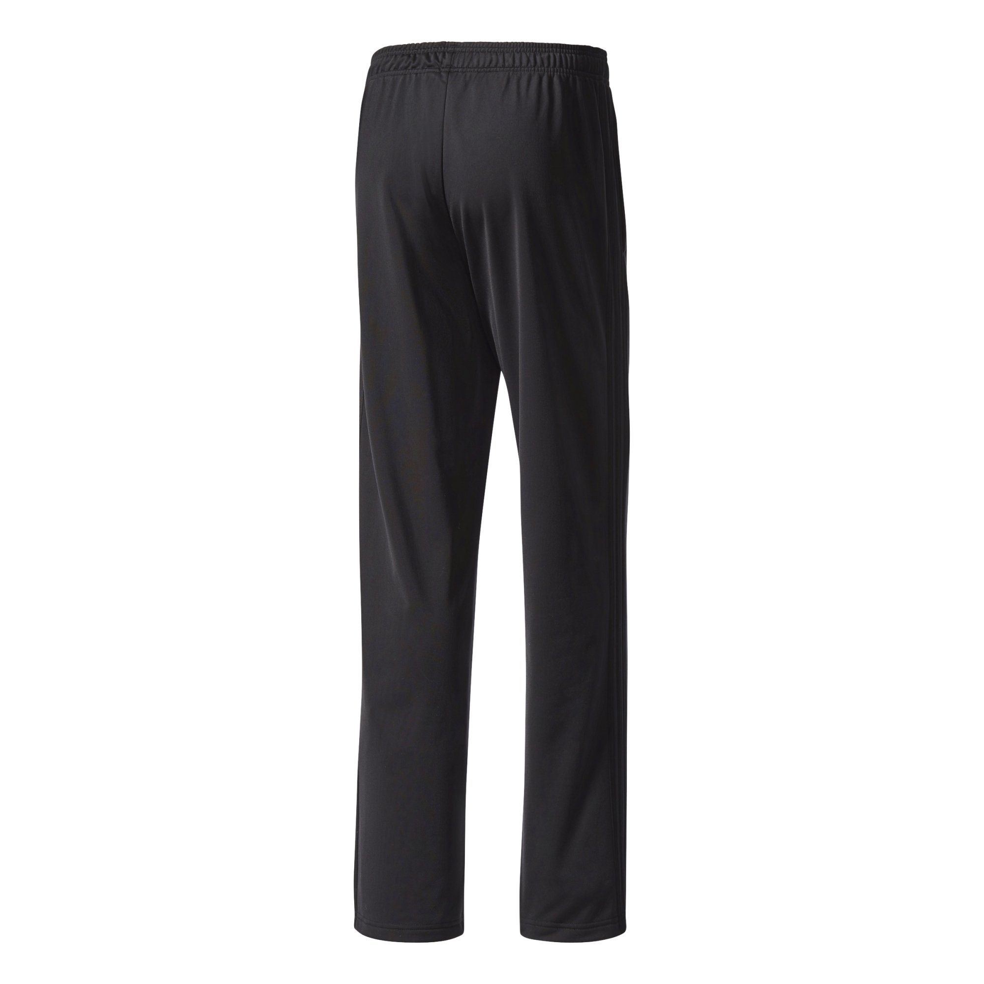 adidas Men's Athletics Essential Tricot 3-Stripe Pants, Black/Black, Small by adidas (Image #4)