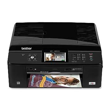 Amazoncom Brother Printer Mfcj825dw Wireless Color Photo Printer