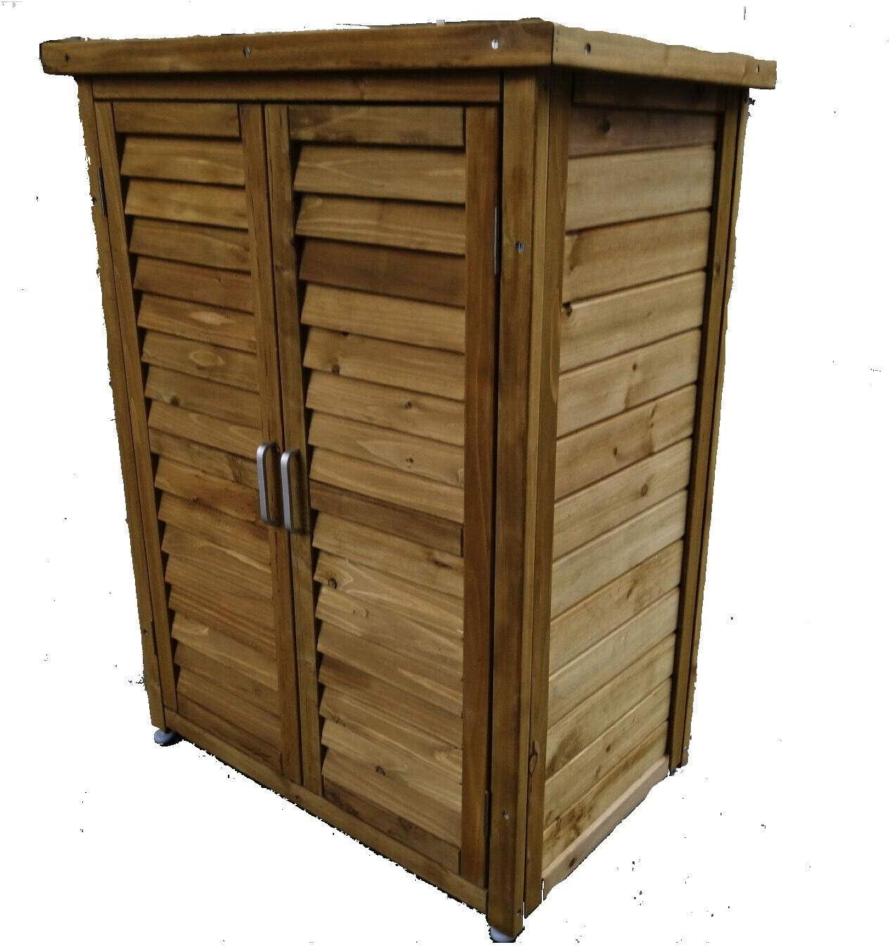Medium Luebel Outdoor Solid Wooden Storage Cabinet Garden Tools DIY Storage Cabinet And Organiser In Medium Or Large Garage Cabinet