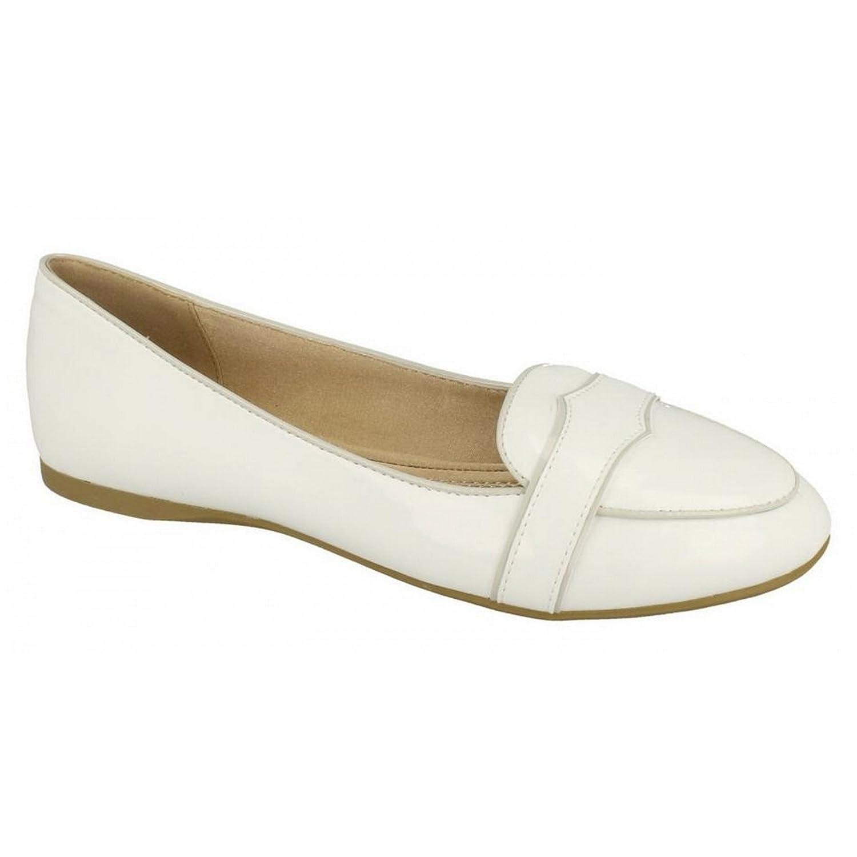 Spot On Damen Mokassins mit Glanz-Finish: Amazon.de: Schuhe & Handtaschen