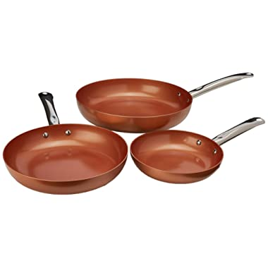 Copper Chef Round Pan 3 Pack 8/10/12