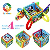 teytoy Baby Stacking Toys with Numbers & Animals