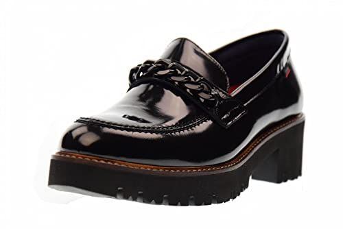 Callaghan 13400 Mocasin Mujeres Negro 40: Amazon.es: Zapatos y complementos