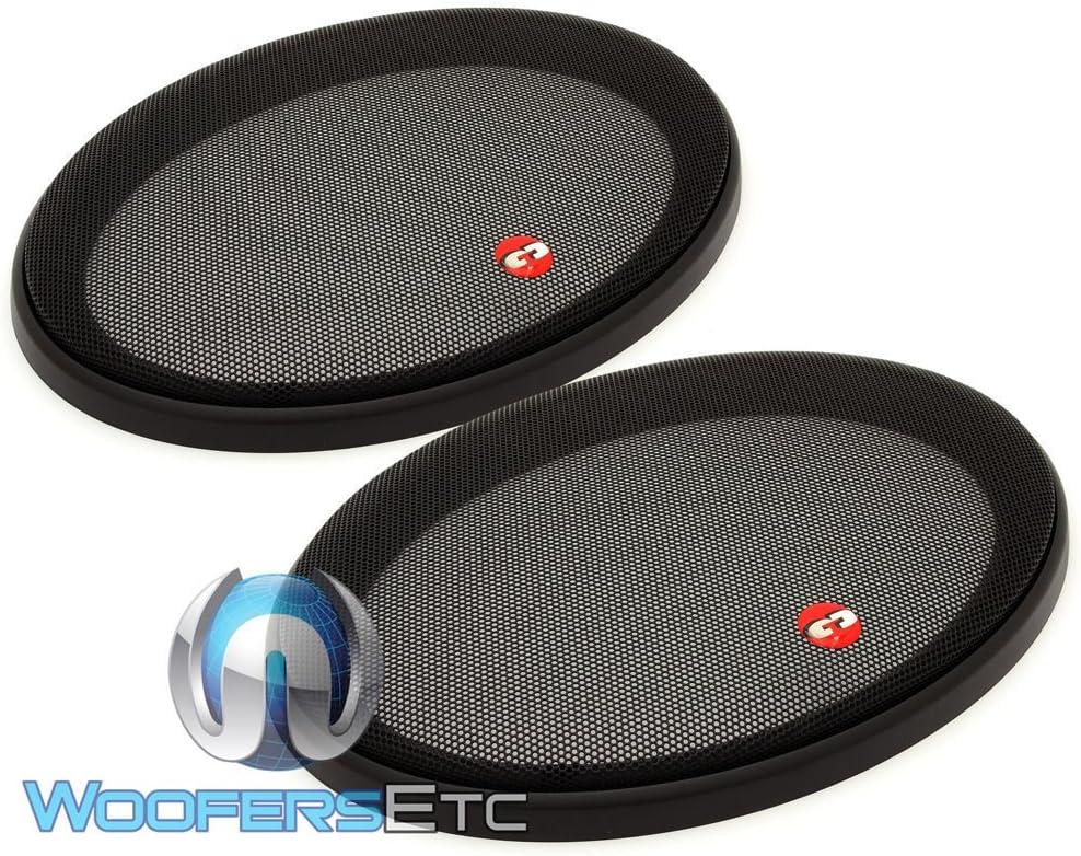 CDT Audio 6X9 Carob Fiber 2 ohm Mid//Subwoofer CL-69SUB//CF.2