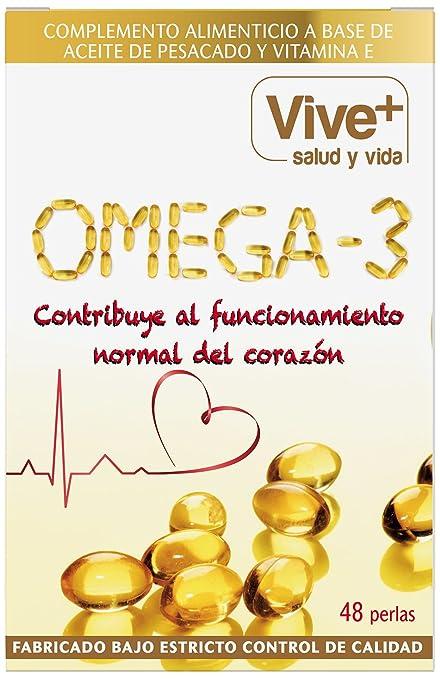 Vive+ Omega 3, Suplemento Alimenticio - 3 Paquetes de 48 ...