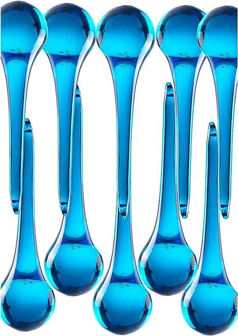 10pcs aqua color Crystal chandelier Rain drop prism crystal
