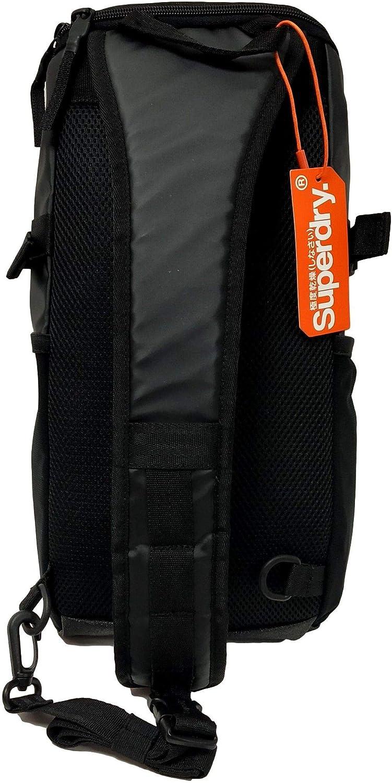 Superdry Sac /à Dos Detroit Hardy Tarp Bag Black Camo