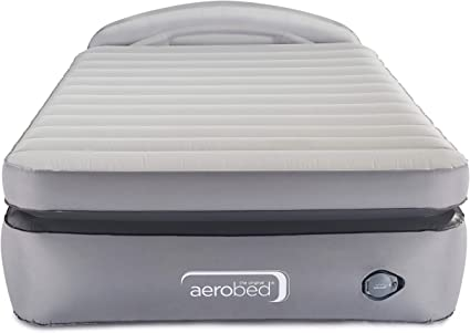 Amazon Com Aerobed Air Mattress With Built In Pump Headboard