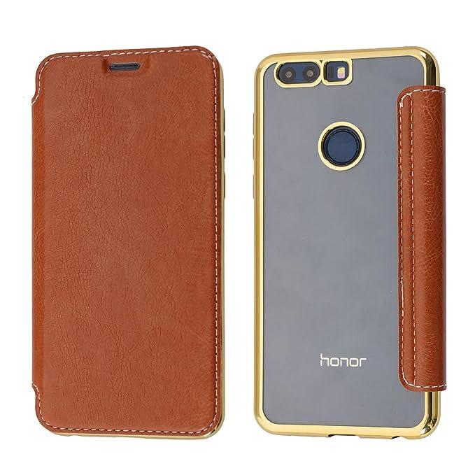 3 opinioni per Cover Honor 8, Custodia Huawei Honor 8, Coodio Custodia in Pelle Portafoglio