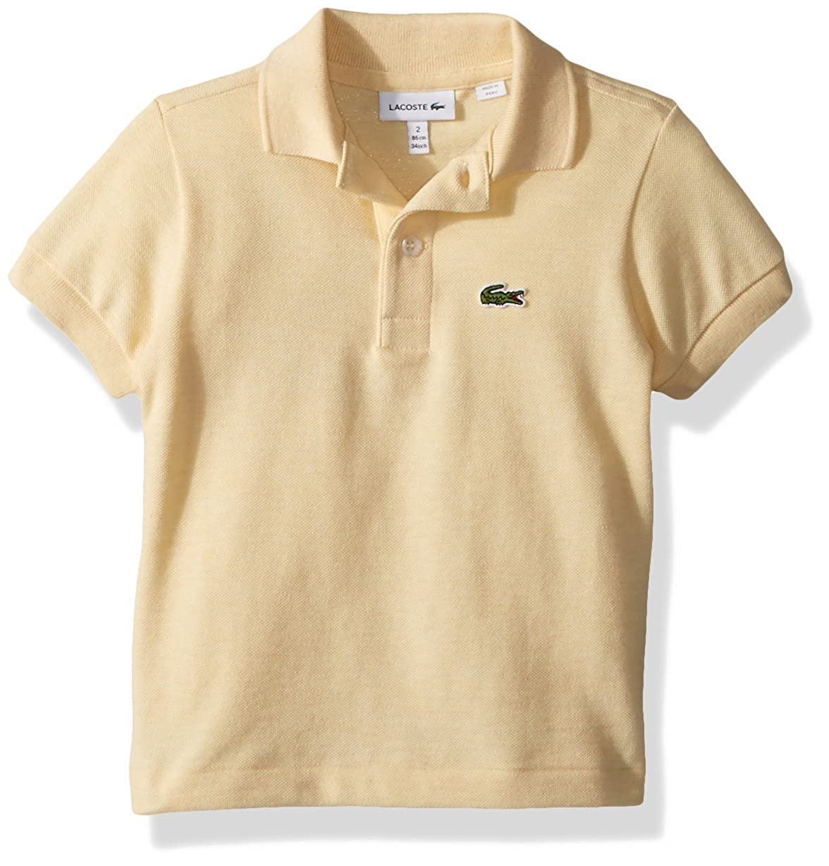 b0f3b9c2 Amazon.com: Lacoste Boys' Short Sleeve Classic Pique Polo: Clothing