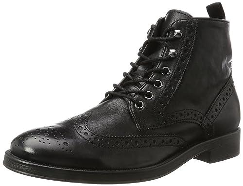 Geox Uomo Symbol a, Zapatillas para Hombre, Negro (Black), 44 EU