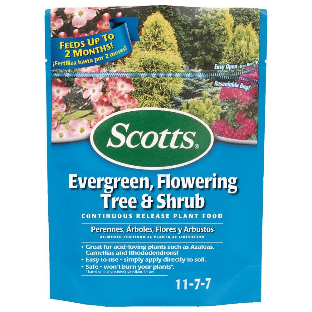 Amazon.com : Scotts 1009101 Continuous Release Evergreen Flowering ...