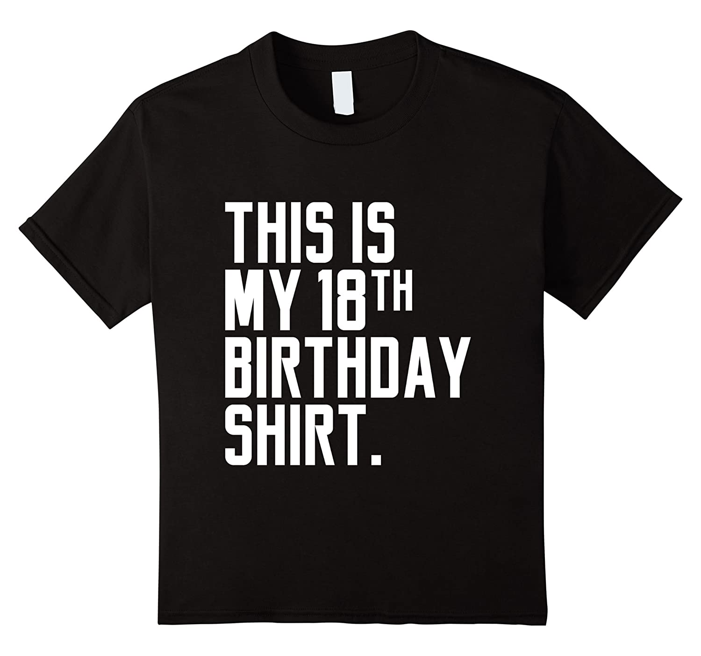 Funny 18th Birthday T Shirt Heather-Tovacu