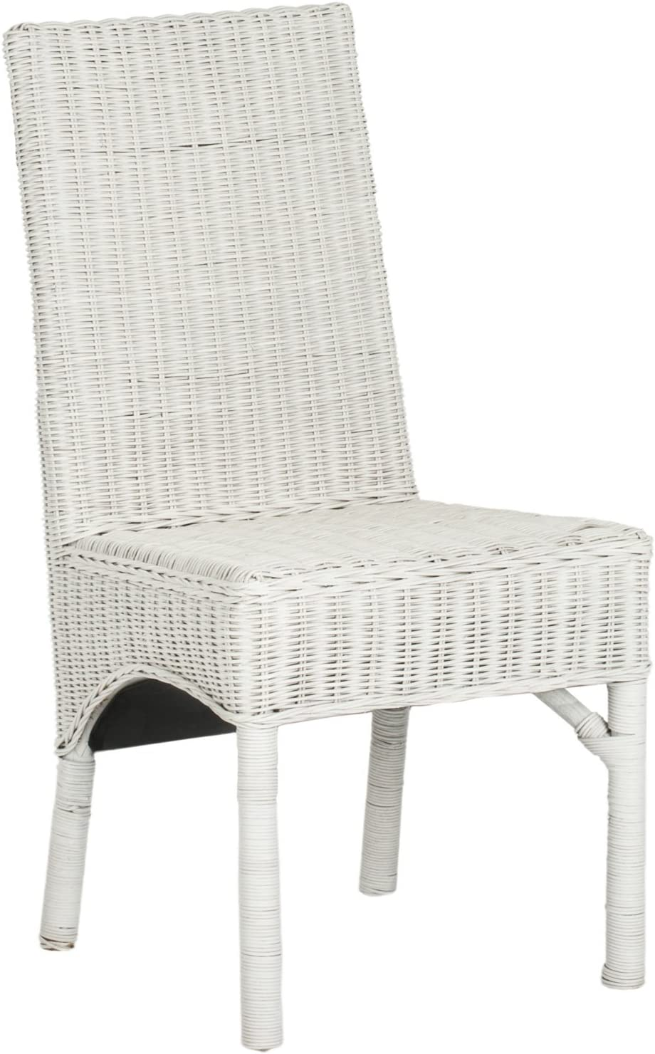 Safavieh Home Collection Sommerset White Dining Chair Set of 2